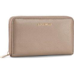 Duży Portfel Damski COCCINELLE - BW5 Metallic Soft E2 BW5 11 32 01 Taupe 175. Czarne portfele damskie marki Coccinelle. W wyprzedaży za 419,00 zł.