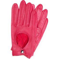 Rękawiczki damskie 46-6L-290-2P. Czerwone rękawiczki damskie Wittchen. Za 99,00 zł.