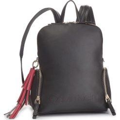 Plecak CALVIN KLEIN - Pop Domed Backpack K60K604471 001. Czarne plecaki damskie marki Calvin Klein, ze skóry ekologicznej. Za 749,00 zł.