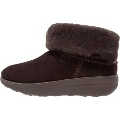 Botki damskie: FitFlop MUKLUK SHORTY 2 BOOTS Ankle boot chocolate