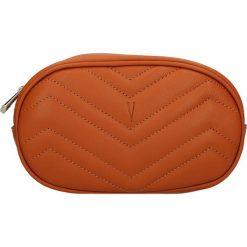 """Torebki klasyczne damskie: Skórzana torebka """"Neuilly"""" w kolorze karmelowym na pasek – 18 x 16 x 11 cm"""