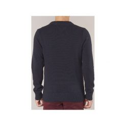 Swetry Tommy Hilfiger  GRAPHICAL-C-NK-CF. Niebieskie swetry klasyczne męskie TOMMY HILFIGER, l. Za 426,30 zł.