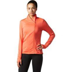 Bluzy damskie: Adidas Bluza damska Supernova Climeheat Wram Jacket pomarańczowa r. L (BQ3915)