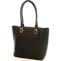 MONNARI Klasyczna torebka shopper bag czarny. Czarne shopper bag damskie Monnari, ze skóry, na ramię. Za 169,00 zł.