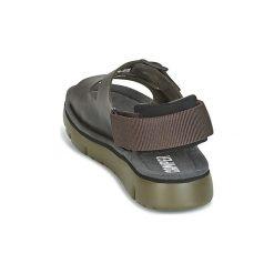 Sandały Camper  ORUGA SANDAL. Brązowe sandały męskie marki OLAIAN, z gumy. Za 370,30 zł.