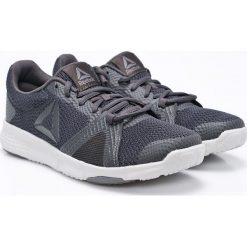 Reebok - Buty Flexile. Szare buty sportowe damskie marki adidas Originals, z gumy. W wyprzedaży za 119,90 zł.