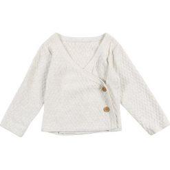 Sense Organics ZGREEN BABY PICASSO WRAP JACKET Kardigan ivory. Brązowe swetry dziewczęce Sense Organics, z bawełny. Za 129,00 zł.