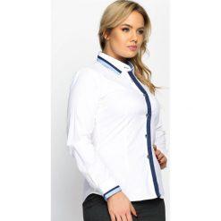 Biało-Niebieska Koszula On Supper. Białe koszule męskie marki Reserved, l. Za 69,99 zł.