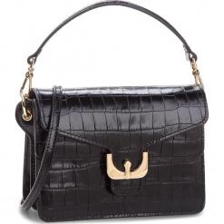 Torebka COCCINELLE - CM2 Ambrine Croco E1 CM2 12 02 01 Noir 001. Czarne torebki klasyczne damskie marki Coccinelle, ze skóry. W wyprzedaży za 1189,00 zł.