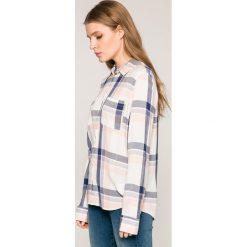 Roxy - Koszula. Białe koszule damskie w kratkę marki Roxy, l, z materiału. W wyprzedaży za 179,90 zł.