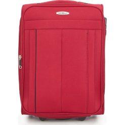 Walizka kabinowa V25-3S-271-30. Czarne walizki marki Wittchen, z gumy, duże. Za 139,00 zł.