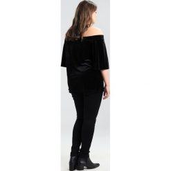 City Chic JEAN HARLEY CORSET Jeansy Slim Fit black denim. Czarne jeansy damskie marki City Chic, z bawełny. W wyprzedaży za 284,25 zł.