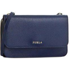 Torebka FURLA - Riva 801550 E EL40 B30 Navy. Niebieskie listonoszki damskie Furla, ze skóry. Za 1040,00 zł.
