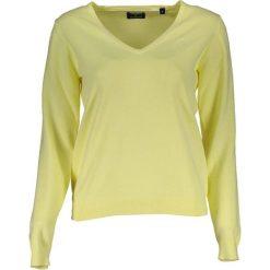 Odzież damska: Sweter w kolorze żółtym