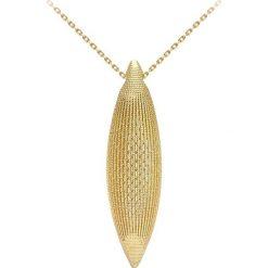 Naszyjniki damskie: Złoty naszyjnik z zawieszką – dł. 71 cm