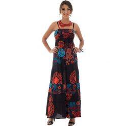 Sukienki: Sukienka w kolorze czarno-czerwonym