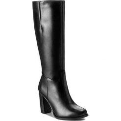 Kozaki LASOCKI - 70615-04 Czarny. Czarne buty zimowe damskie Lasocki, ze skóry, przed kolano, na wysokim obcasie. Za 349,99 zł.
