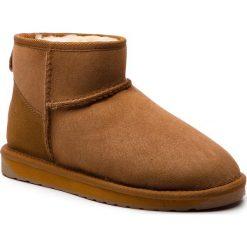 Buty EMU AUSTRALIA - W10937 Chestnut. Brązowe buty zimowe damskie EMU Australia, z gumy. Za 549,00 zł.