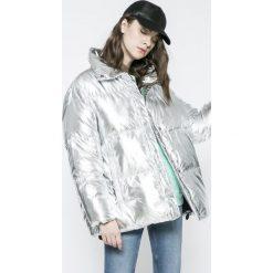 Missguided - Kurtka. Szare kurtki damskie pikowane marki Missguided, z materiału. W wyprzedaży za 219,90 zł.