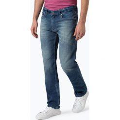 Tommy Jeans - Jeansy męskie – Ryan, niebieski. Niebieskie jeansy męskie z dziurami marki Tommy Jeans. Za 449,95 zł.