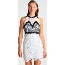 Sukienki hiszpanki: Topshop ALINE Sukienka koktajlowa white