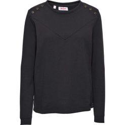 Bluza z guzikami bonprix czarny. Czarne bluzy rozpinane damskie bonprix. Za 54,99 zł.
