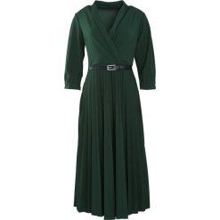 Zielona Sukienka Conformation. Zielone sukienki hiszpanki Born2be, m, midi. Za 109,99 zł.