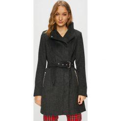 Vero Moda - Płaszcz Two Dope. Czarne płaszcze damskie wełniane marki Vero Moda, l. Za 429,90 zł.