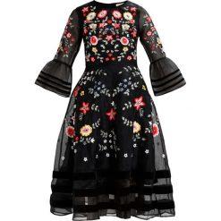 Sukienki hiszpanki: Frock and Frill BRYELLE FLORAL MIDI DRESS Sukienka koktajlowa black