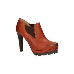 Creepersy damskie: Low boots Kordel  PÓŁBUTY  399