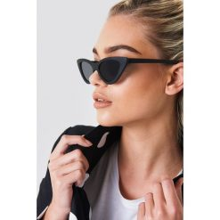 NA-KD Accessories Okulary przeciwsłoneczne Pointy Cat Eye - Black. Szare okulary przeciwsłoneczne damskie lenonki marki ORAO. Za 60,95 zł.