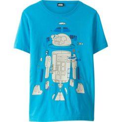 """Odzież chłopięca: T-shirt """"Star Wars"""" bonprix niebieski z nadrukiem"""