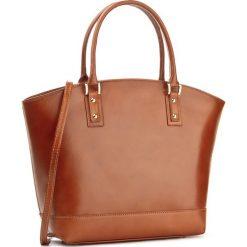 Torebka CREOLE - RBI347 Koniak. Brązowe torebki klasyczne damskie Creole, ze skóry. W wyprzedaży za 259,00 zł.