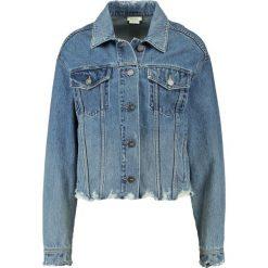 Bomberki damskie: Miss Sixty KIRAL Kurtka jeansowa blue denim