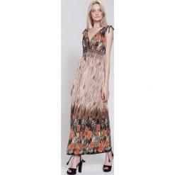 Sukienki: Pomarańczowa Sukienka Sunday Noise