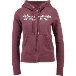 Bluzy damskie: Abercrombie & Fitch HERITAGE Bluza rozpinana burgundy
