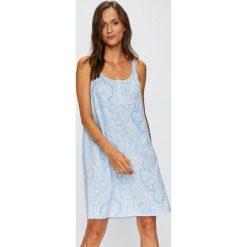 Lauren Ralph Lauren - Koszula nocna. Szare koszule nocne i halki Lauren Ralph Lauren, z bawełny. W wyprzedaży za 339,90 zł.