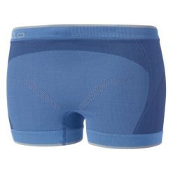 Bokserki damskie: Odlo Bokserki Panty Evolution Light Greentec niebieskie r. XS