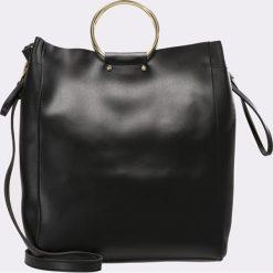Topshop B&B Torba na zakupy black. Czarne torebki klasyczne damskie Topshop. Za 149,00 zł.