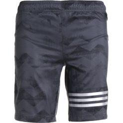 Adidas Performance RUN Krótkie spodenki sportowe carbon/black. Czarne spodenki chłopięce adidas Performance, z materiału, sportowe. Za 139,00 zł.