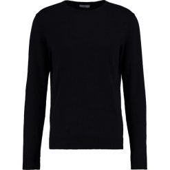 Swetry klasyczne męskie: Selected Homme SHDTOWER CREW NECK Sweter black