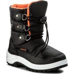 Buty zimowe chłopięce: Śniegowce ACTION BOY – CYL6019A-3 Czarny