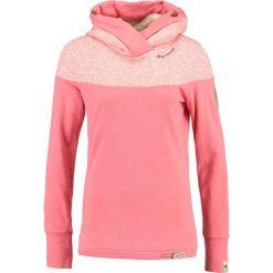 Odzież damska: Ragwear ADINA ORGANIC Bluza z kapturem coral melange