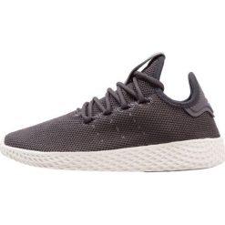Adidas Originals PW TENNIS HU Tenisówki i Trampki carbon/chalk white. Czarne tenisówki męskie adidas Originals, z materiału. W wyprzedaży za 359,20 zł.