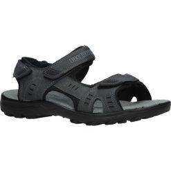 Szare sandały na rzepy Casu 9S-FH86397. Szare sandały męskie marki Casu, na rzepy. Za 59,99 zł.
