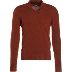 Swetry klasyczne męskie: Drumohr Sweter ruggine