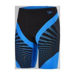 Kąpielówki męskie: Speedo Kąpielówki męskie Chevron Splice Jammer Black/Blue r. 38 (8113497669)