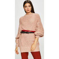 Medicine - Sweter Essential. Szare swetry klasyczne damskie MEDICINE, s, z bawełny, z okrągłym kołnierzem. Za 159,90 zł.