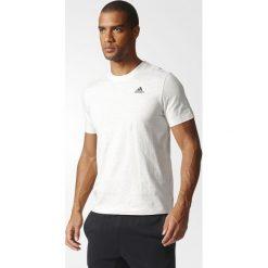 Koszulki sportowe męskie: Adidas Koszulka męska T-shirt biała r. S (B47356)