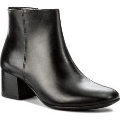 Botki LASOCKI - 70983-01 Czarny. Czarne buty zimowe damskie Lasocki, ze skóry, na obcasie. Za 249,99 zł.